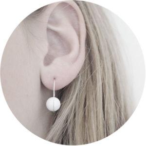 Qtz spiral oorringen